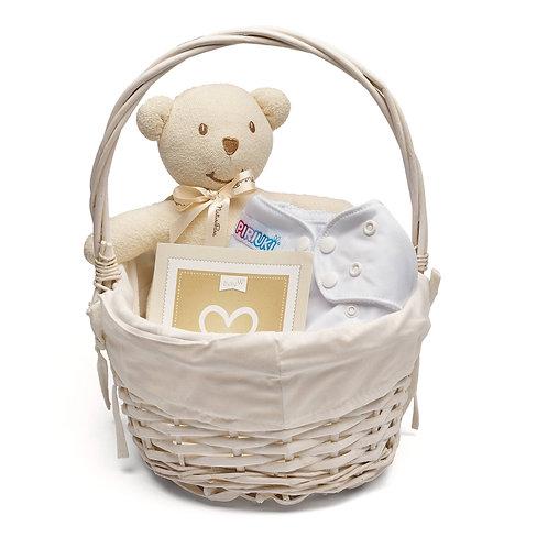 Basket Ecological White