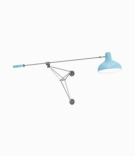 Diana Wall Lamp - Light Blue