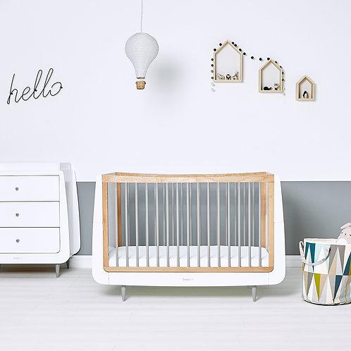 2 piece Skandi Furniture Set - Grey - incl. mattress