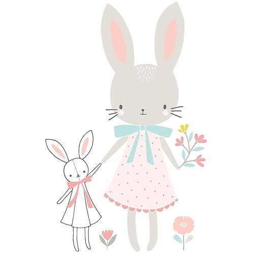 Wall Stickers XL Little Miss Rabbit