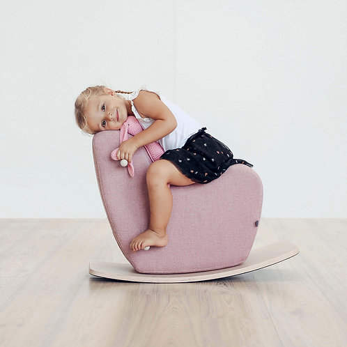 Rocking Horse Toddler -Pale Pink
