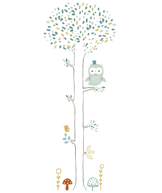 Wall Sticker XL Tree Owl