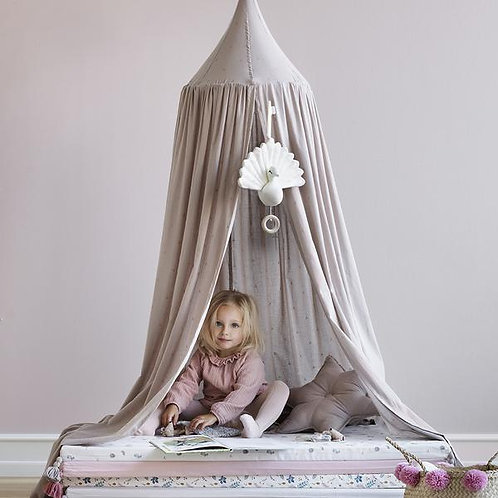 Bed Canopy - Dot Hazel