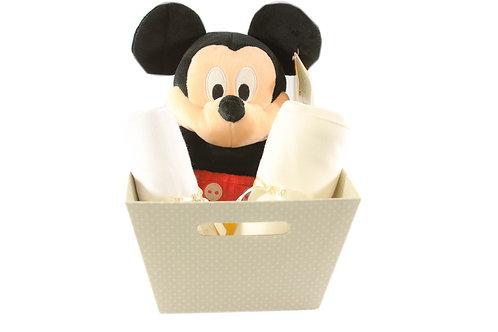 Mickey Polka Basket - Produto Oficial