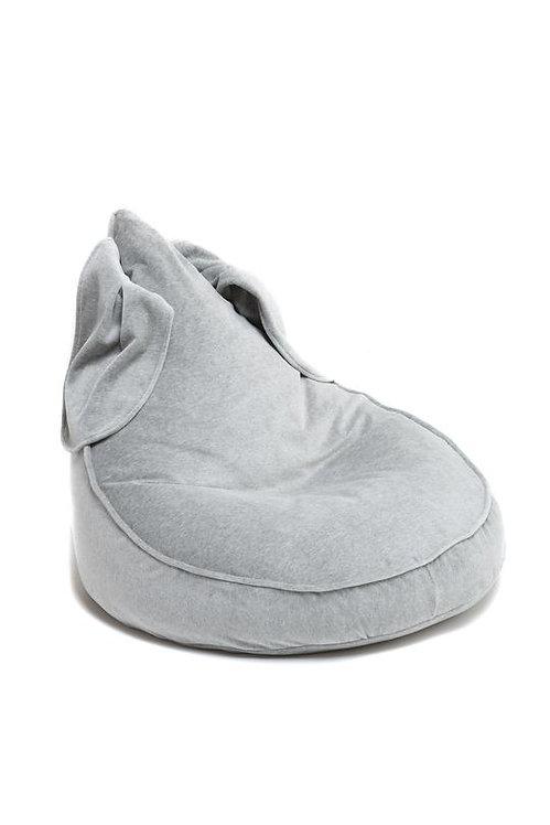 Bunny BeanBag in Velvet - grey