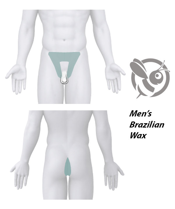 MEN'S BRAZILIAN WAX