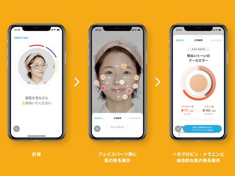 自分の顔を診断してくれる新しいコンテンツをご紹介