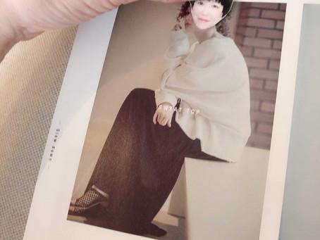 雑誌で似合う服を探せます