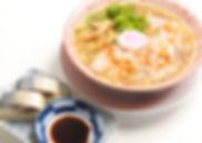 中華そばとサバ寿司(2カン)
