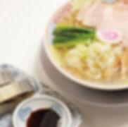 サバ醤油そばとサバ寿司(2カン)
