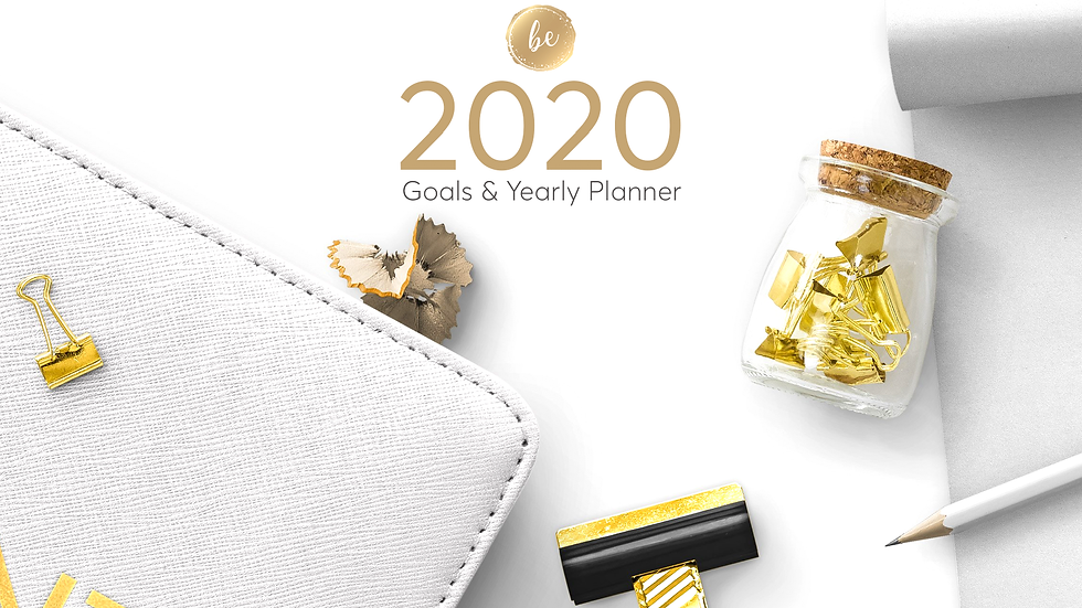 2020 Goals & Yearly Planners