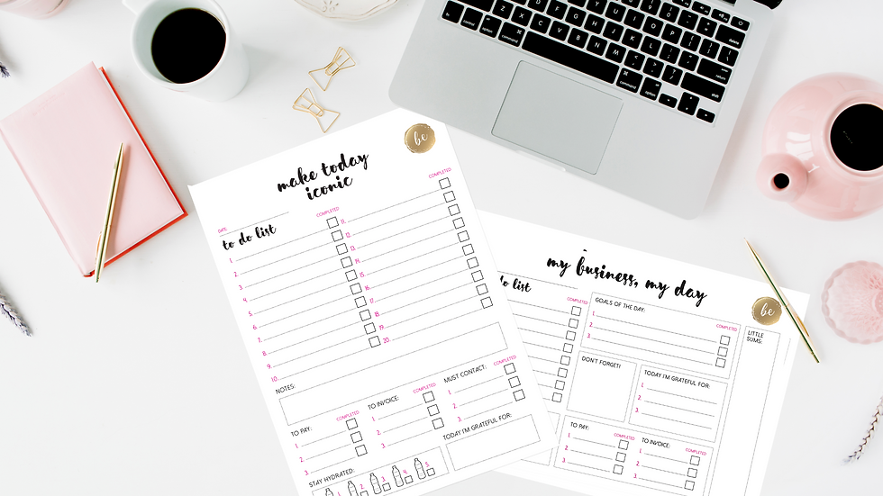 WORK FROM HOME PACK - EDITABLE