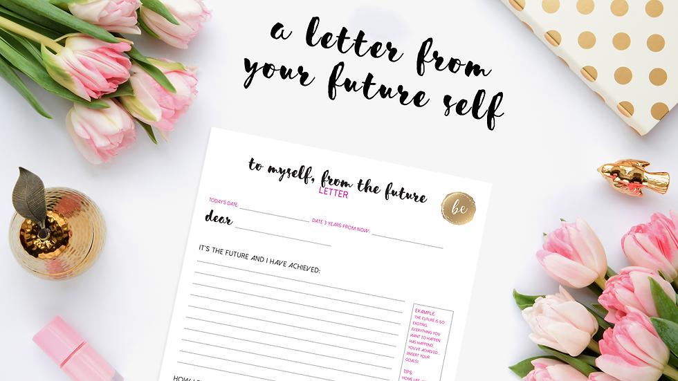Gratitude Journal and Future Self Goal Planner