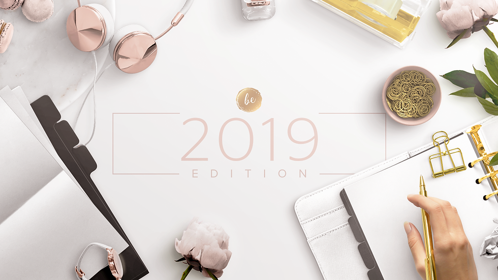 2019 Yearly Goal Planner