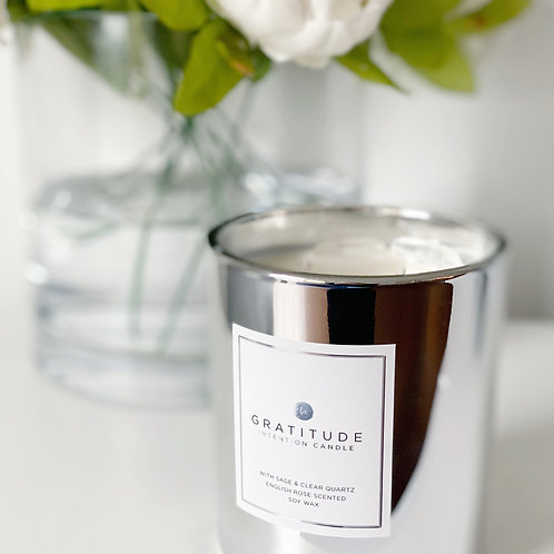 Gratitude Intention Candle