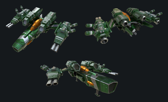 Modular Space Fighter