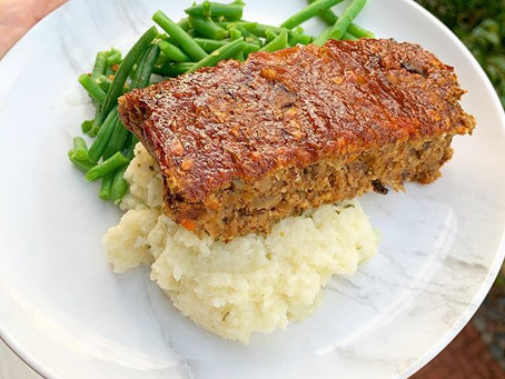 Lentil Meatloaf (V, GF)