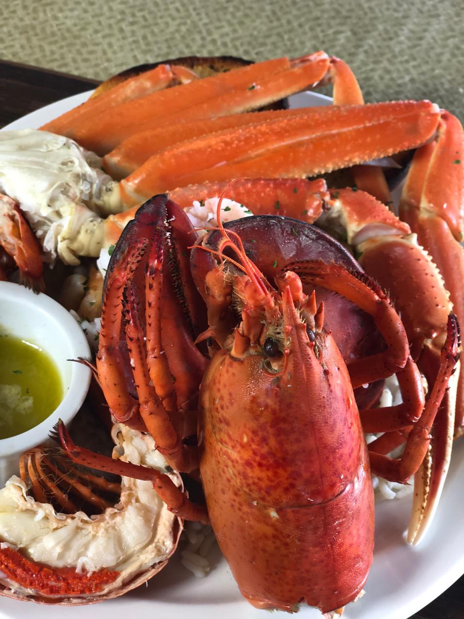 Sea Food Plate.
