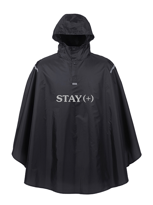 Outta Pocket 3M Poncho / Black