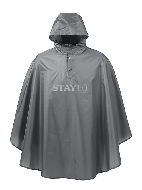 Outta Pocket 3M Poncho / Grey