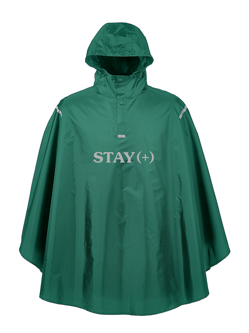Outta Pocket 3M Poncho / Green