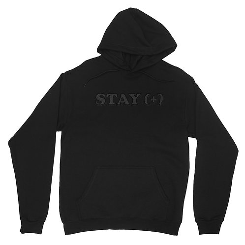 STAY(+) Black on Black Hoodie