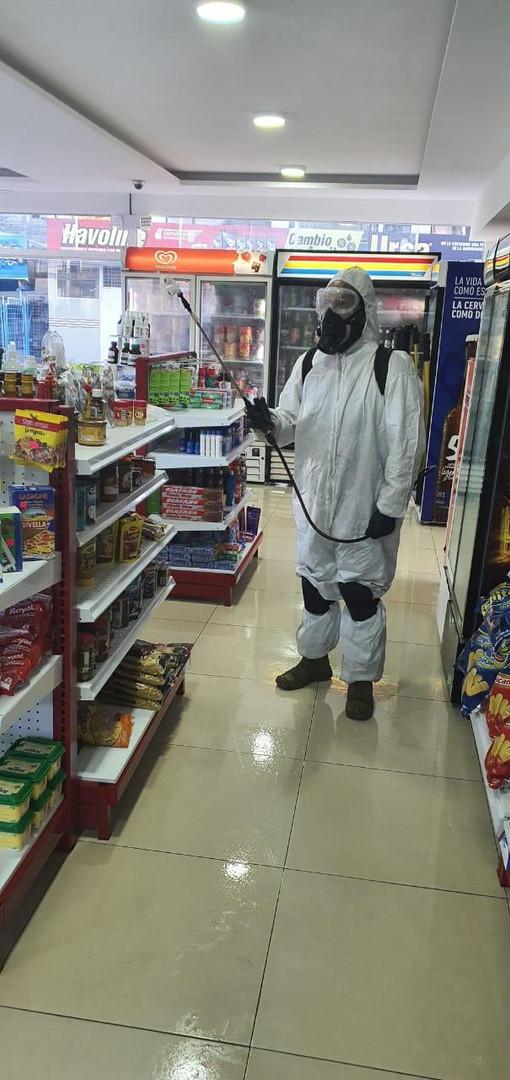 Desinfección Market Puma