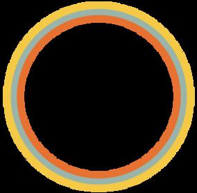 cercle en arc en ciel