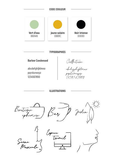 charte graphique creation graphique illustration