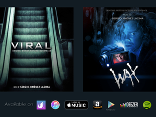 VIRAL and WAX - Digital Soundtracks release