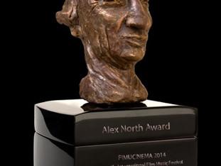 LA ISLA ROTA wins the Alex North Award for Best Original Score at the Fimucité Festival