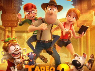 TAD JONES AND THE SECRET OF KING MIDAS - PREMIERE IN SPAIN