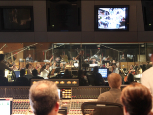 RECORDING SESSION WITH THE HOLLYWOOD STUDIO SYMPHONY AT FOX STUDIOS (LOS ANGELES, CA)