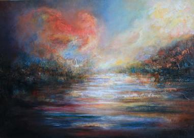 Summer Heat, Oil on Canvas