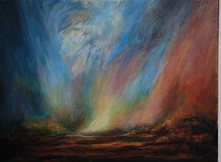 Solitude, Oil on canvas.