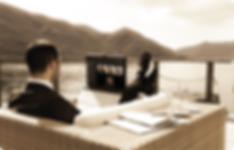 smart office businessman on lake.png