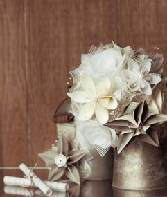 papelon · flores de papel
