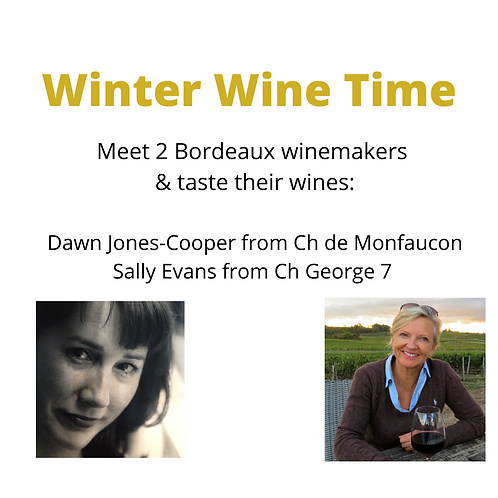 Winter Wine Online Tasting Event - 18.30 - 20.00 5th March 2021