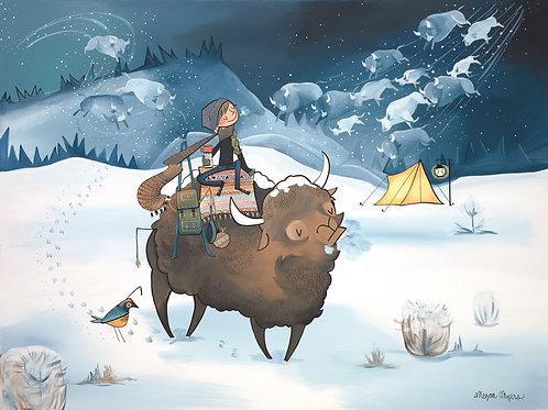 #40 Buffalo– Art Print