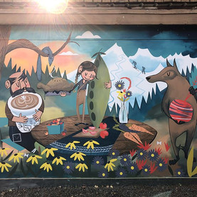 The Humble Beet Mural