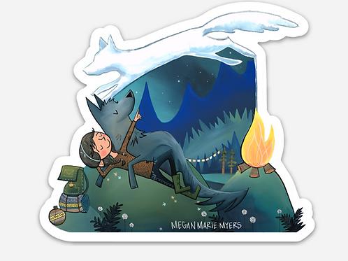 Sticker- Campfire Dreams