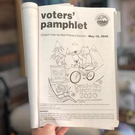 Deschutes County Voters' Pamphlet Coloring Contest