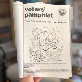 Deschutes County Voters' Pamphlet Coloring Contest