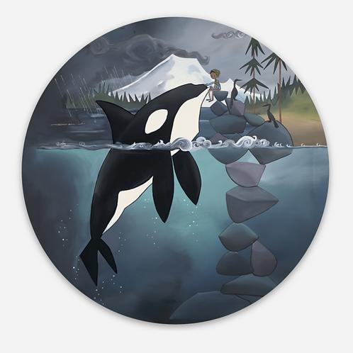Sticker- Orca