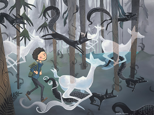 Adventure Runner and Animal Ghosts