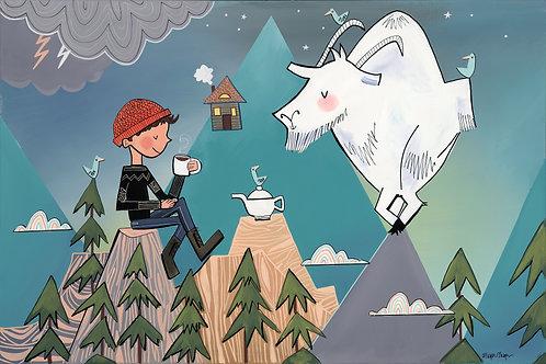 Tea Time with Mountain Goat