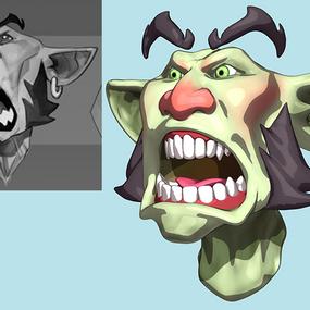 Goblin Concept by Max Grecke