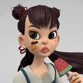 Daruma Girl