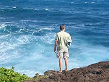 Jason on the ocean