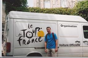 Tour de France Bus
